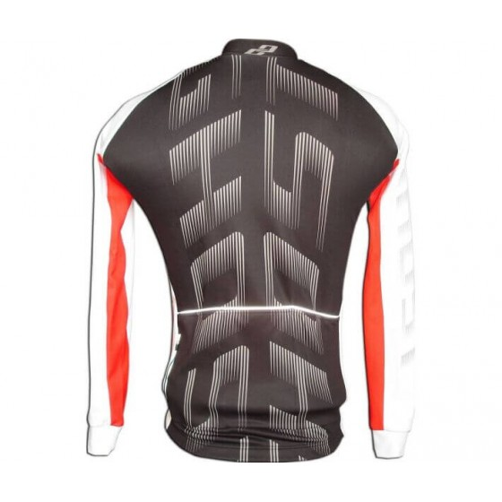 Ghost Pro Jersey Long Black/White/Red