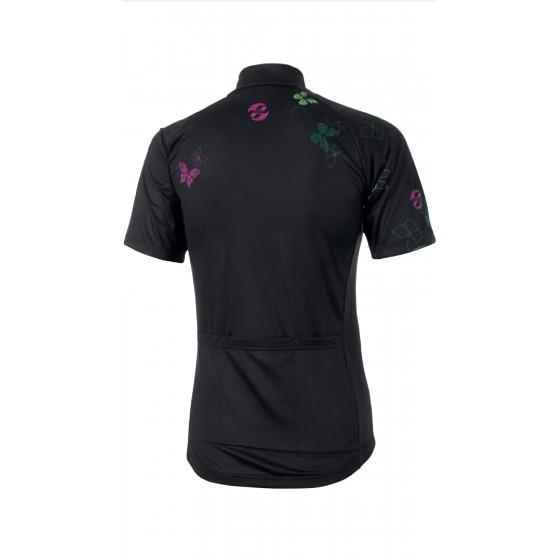 Ghost Cross Jersey Short Black/Purple
