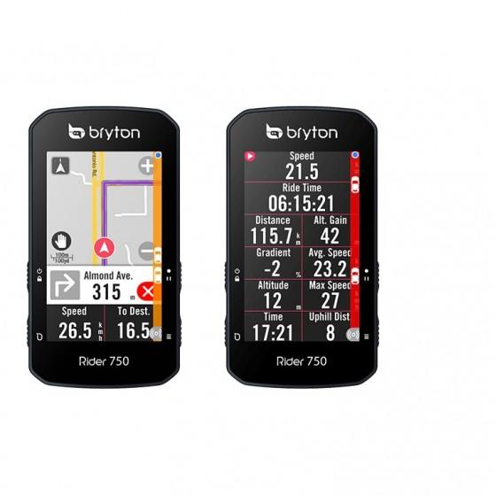 Bryton Rider 750 HR Sensor Included